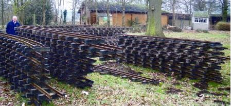 Pile of Track